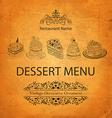 Food and drink menu vector image vector image