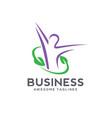 healthcare logo vector image