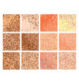 mosaic with bright pixels vector image vector image