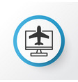 online reservation icon symbol premium quality vector image
