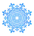 Round pattern vector image vector image
