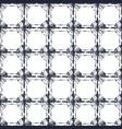 seamless bullseye tie dye checks indigo pattern vector image vector image