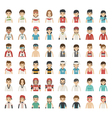 set sport characters eps10 format vector image vector image