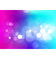 abstract bokeh lights colorful background vector image