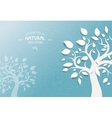 Abstract trees background vector image vector image