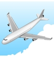 Airplane Isometric Icon vector image vector image