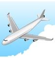 Airplane Isometric Icon vector image
