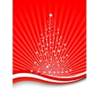 christmas magic - magical tree vector image vector image