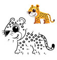 dot to dot game vector image vector image