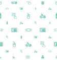 keypad icons pattern seamless white background vector image vector image