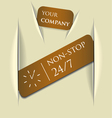 paper message pad vector image vector image