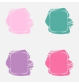 Set with Paint Frames vector image vector image