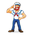 Beard Sailor vector image vector image