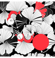 beautiful graphic patterns are seamless with vector image vector image
