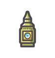 big ben tower icon cartoon vector image