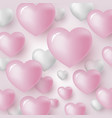 heart background design vector image vector image