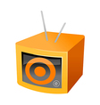 icon television vector image vector image