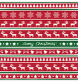 Seamless Christmas background14 vector image