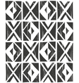 seamless geometric pattern Hand drawn vector image