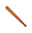 sport baseball bat vector image vector image