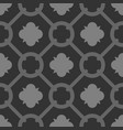 tile grey and black decorative floor tiles pattern vector image vector image