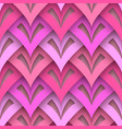 cutout paper texture seamless pattern vector image