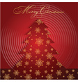 christmas tree background 0909 vector image vector image