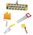 Construction Symbol Icon Object Set D vector image