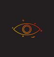 Eye eyeball look search spy vision icon desige