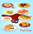 finnish cuisine dinner dishes icon for menu design vector image vector image