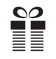 Gift or present icon vector image vector image