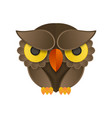 owl logo and icon concept logo available in vector image