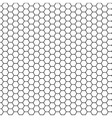 Abstract science hexagon background vector image vector image
