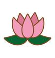 blossom icon cartoon vector image