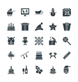 Christmas Cool Icons 4 vector image vector image