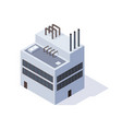 factory isometric architecture manufactures