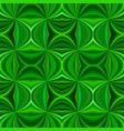 green abstract psychedelic seamless striped vector image vector image