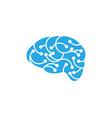 health brain icon vector image vector image