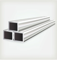 Metal Square vector image vector image