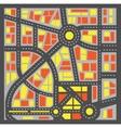 Plan city vector image vector image