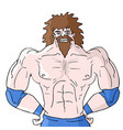 strong gym vector image
