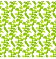 Stylized cartoon liana jungle seamless pattern vector image
