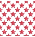 The pattern of the five-pointed star composed of vector image vector image