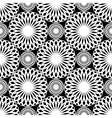 rosette pattern vector image