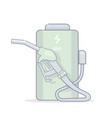 alternative energy cartoon vector image vector image