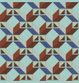 architectonic pattern vector image vector image
