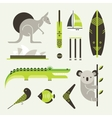 Australia icons vector | Price: 1 Credit (USD $1)