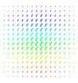 gay symbol icon halftone spectrum effect vector image