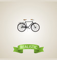 realistic stylish element of vector image vector image