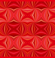 red seamless abstract hypnotic swirl stripe vector image vector image